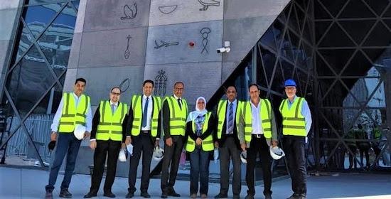 Le succès du pavillon de l'Egypte : une « priorité »