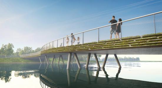 Expo 2022 Amsterdam-Almere Nouvelle génération de ponts à la Floriade Expo 2022