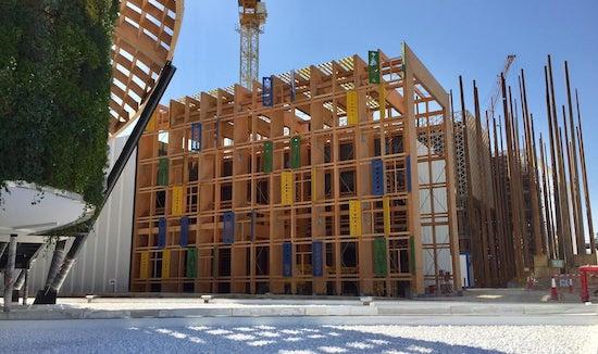 Expo 2020 Dubai Pavillon de la Lituanie : Fin des travaux de construction